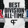 What is the best division in NFL history?
