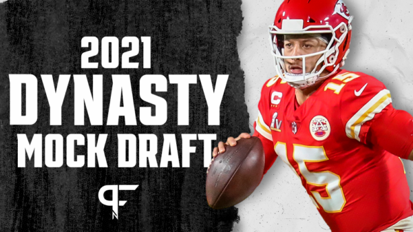 Dynasty Superflex Startup Mock Draft 2021: QBs are a valuable commodity in Round 1