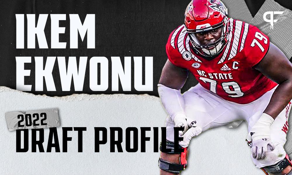 Ikem Ekwonu, NC State OG | NFL Draft Scouting Report