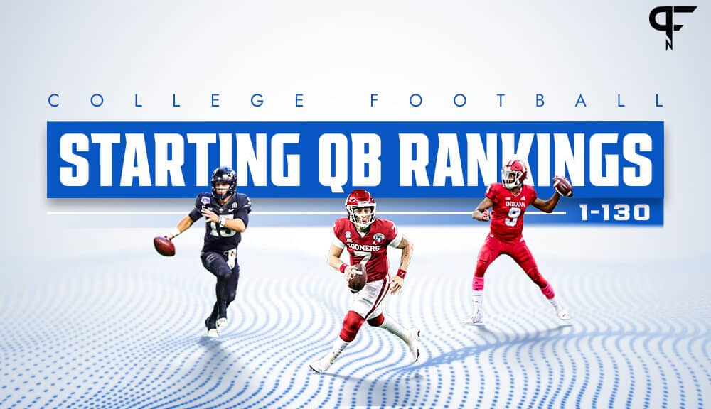 College Football QB Power Rankings: Ranking all 130 starting quarterbacks for 2021