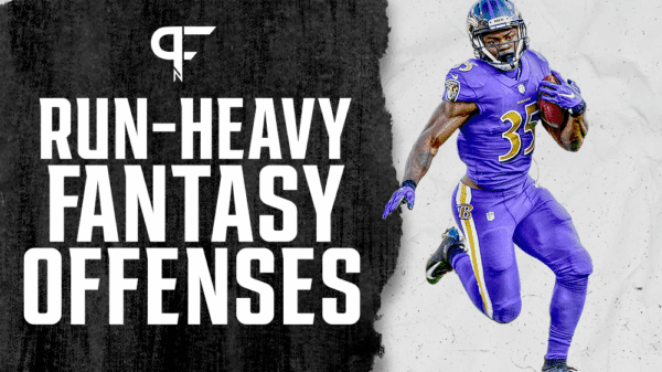 Run-heavy NFL offenses with fantasy football value in 2021