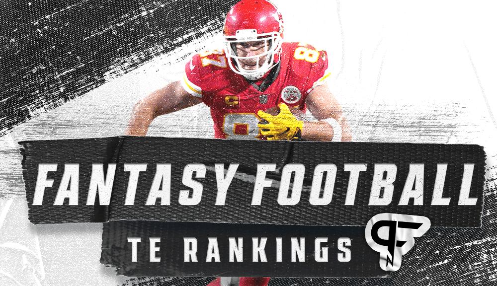 Fantasy TE Rankings 2021: Top 3 in a league of their own