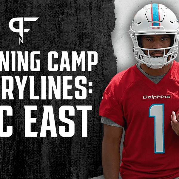 AFC East training camp storylines to watch