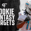 Top NFL rookies to target in redraft fantasy football league's in 2021