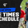 The Open 2021: Tee times, channel, predictions, more