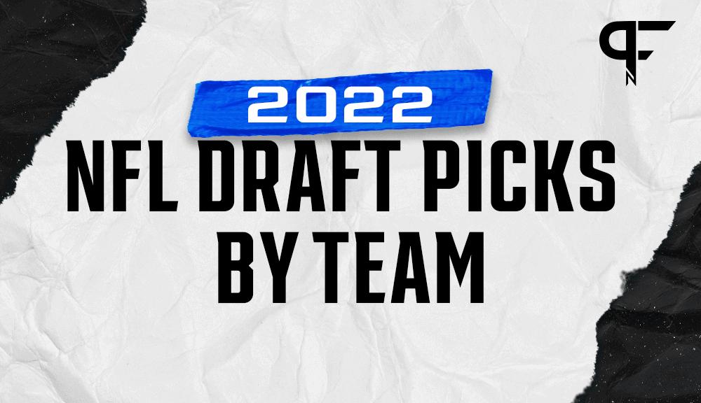 2022 NFL Draft picks by team