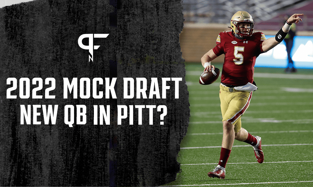 2022 NFL Mock Draft: Steelers find Big Ben's replacement at Boston College