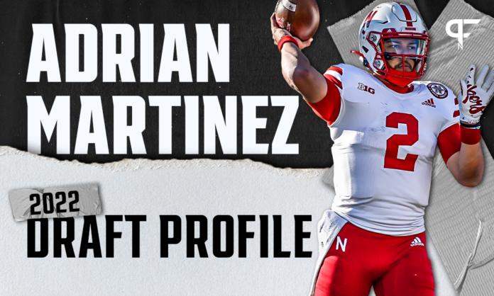Adrian Martinez, Nebraska QB   NFL Draft Scouting Report