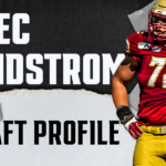 Alec Lindstrom, Boston College OC | NFL Draft Scouting Report