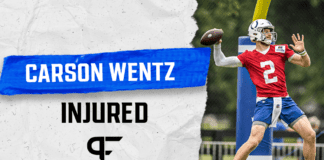 How Carson Wentz' ankle injury impacts the Colts moving forward