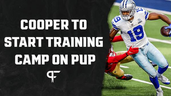 Amari Cooper to start Cowboys training camp on NFL's PUP list