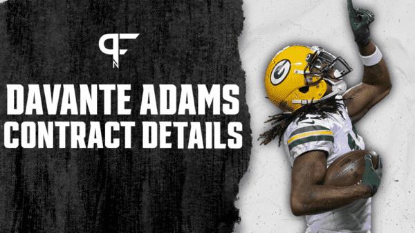 Davante Adams Contract Details, Salary Cap Impact, Bonuses