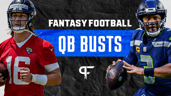 2021 Fantasy Football QB Busts: Trevor Lawrence and Russell Wilson