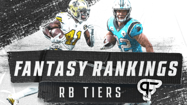 2021 Fantasy Football RB Tiers: Christian McCaffrey stands alone