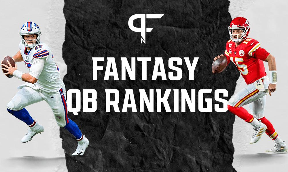 Fantasy QB Rankings 2021: Patrick Mahomes and Josh Allen sit atop the rankings