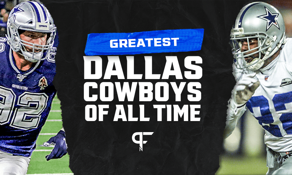 15 Greatest Dallas Cowboys of all-time from Jason Witten to Emmitt Smith