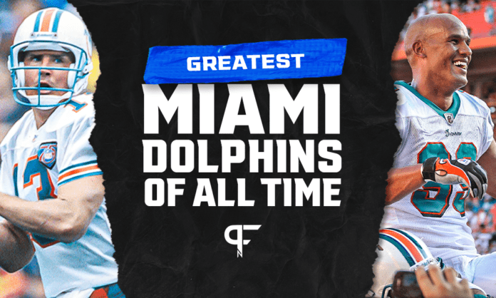15 greatest Miami Dolphins of all time, from Dan Marino to Dwight Stephenson