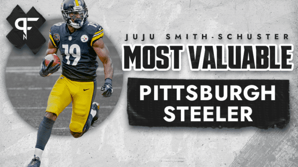JuJu Smith-Schuster was the most valuable Pittsburgh Steelers receiver in 2020