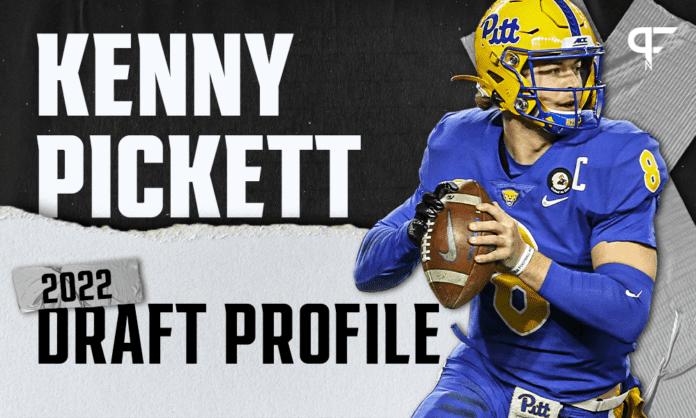 Kenny Pickett, Pitt QB   NFL Draft Scouting Report