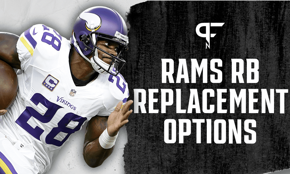 Could the Rams add Adrian Peterson or Todd Gurley to replace Cam Akers?