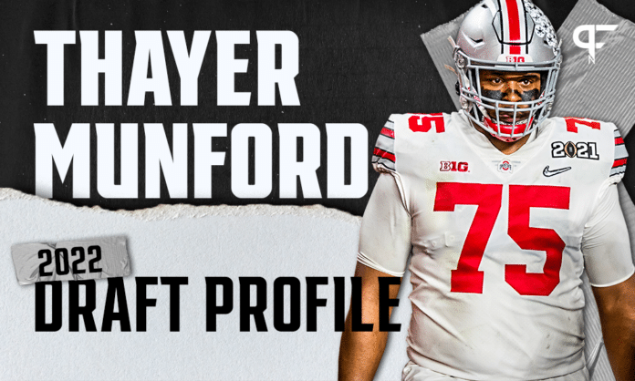 Thayer Munford, Ohio State OT   NFL Draft Scouting Report