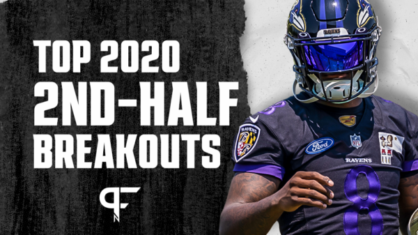 Fantasy football performances from the second half of 2020 to note
