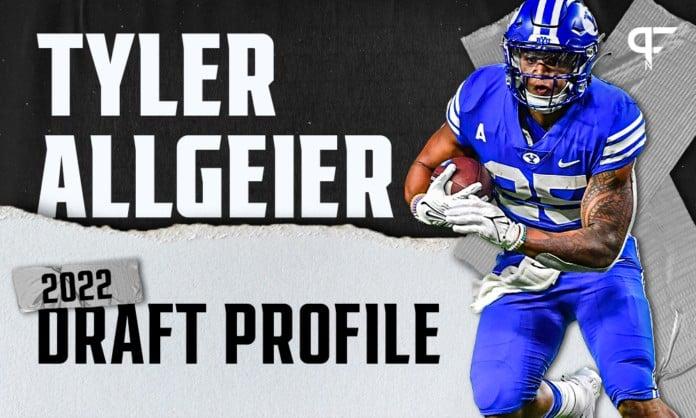 Tyler Allgeier, BYU RB | NFL Draft Scouting Report