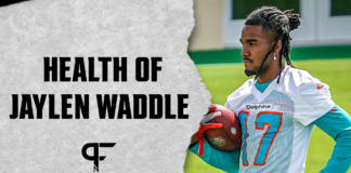 Exclusive details on Dolphins WR Jaylen Waddle's return from ankle surgery