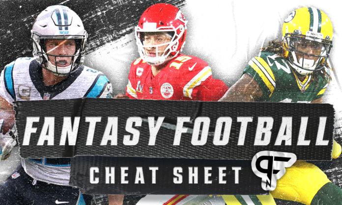 2021 Fantasy Football cheat sheet, rankings, and profiles