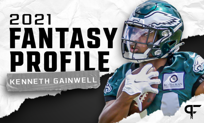 Kenneth Gainwell's fantasy outlook and projection for 2021