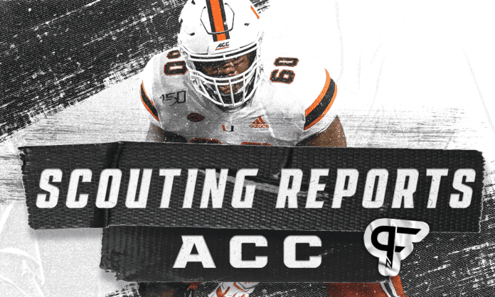 ACC draft prospects and scouting reports for 2022 NFL Draft