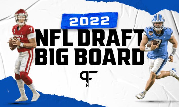2022 NFL Draft Big Board: Top 50 prospect rankings after Week 7 of the 2021 CFB season