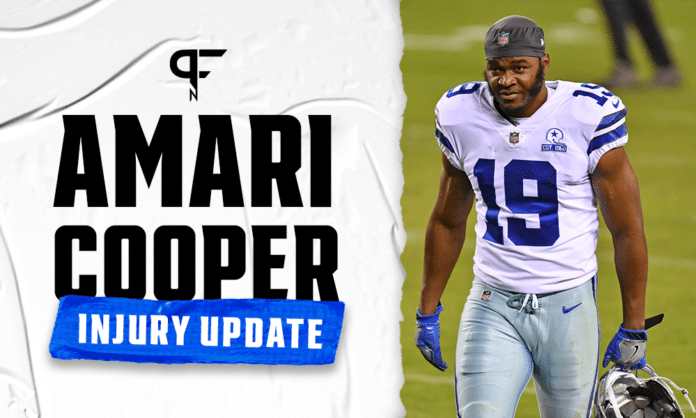 Amari Cooper Injury Update: Is ankle injury a cause for concern?
