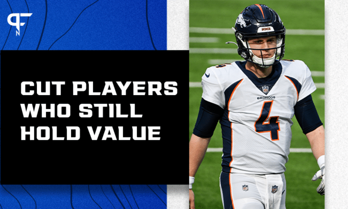 7 NFL players cut in 2021 that could help your team this season