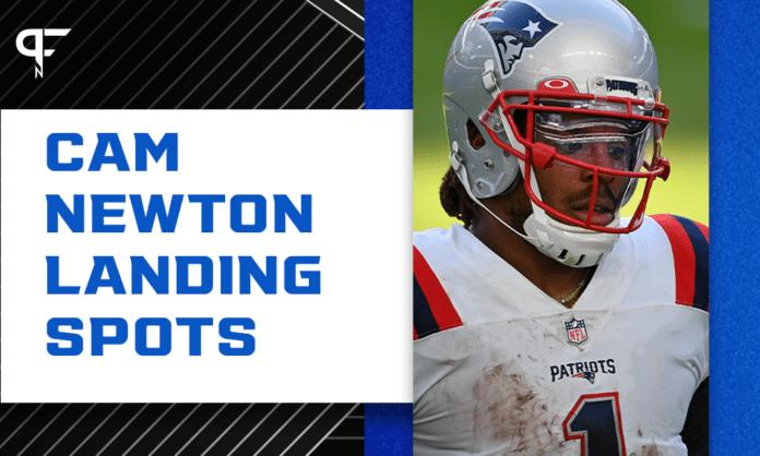 Cam Newton Landing Spots: 3 teams that need the former MVP