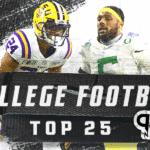 Top 25 College Football Preseason Rankings: Who is behind the big three?