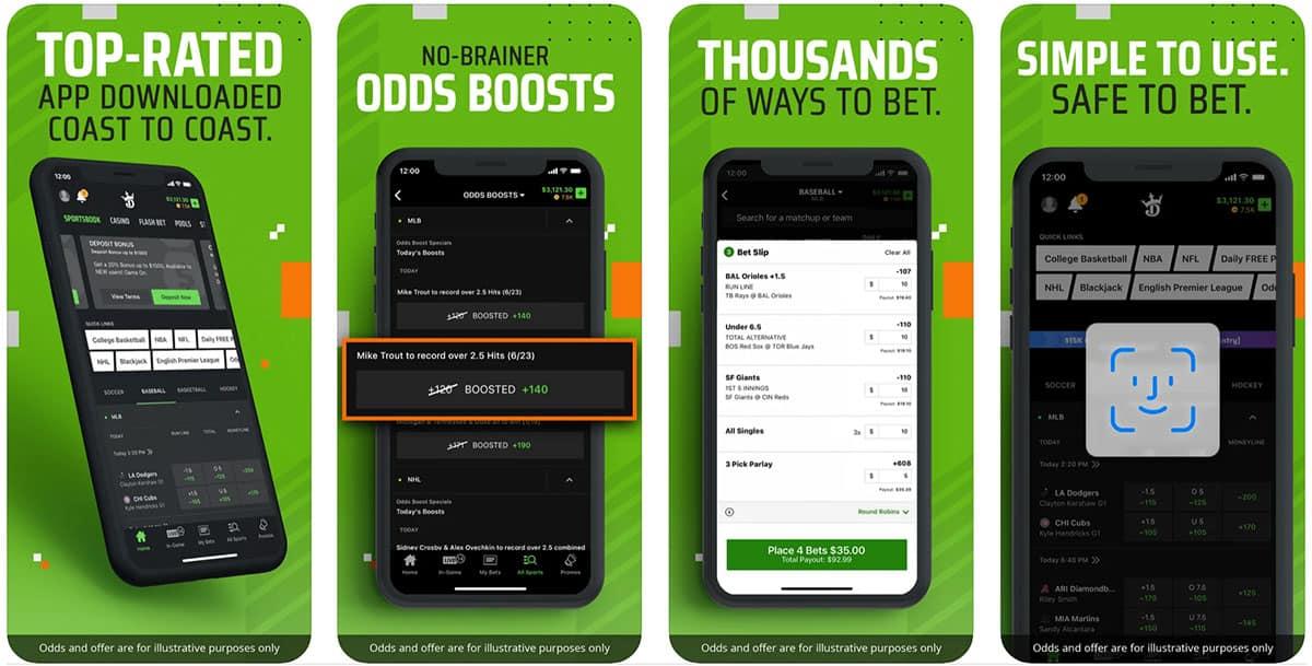 DraftKings Sportsbook, NFL Betting App