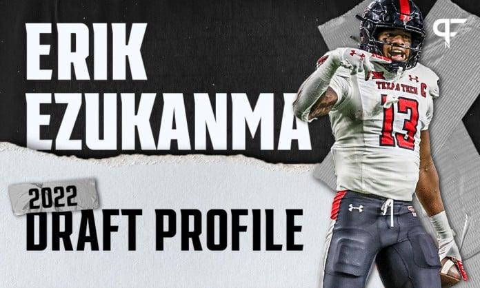 Erik Ezukanma, Texas Tech WR   NFL Draft Scouting Report