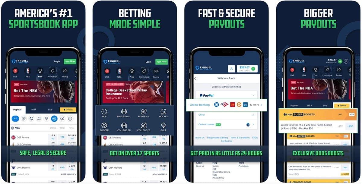 FanDuel Sportsbook, NFL Betting App