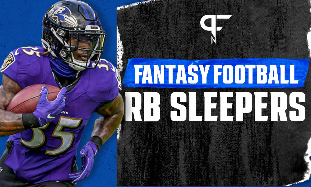 Fantasy Football RB Sleepers 2021: Gus Edwards and AJ Dillon could offer value - Pro Football Network