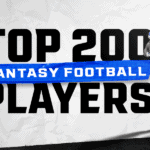 Top 200 Fantasy Football Players 2021: Rankings for PPR leagues