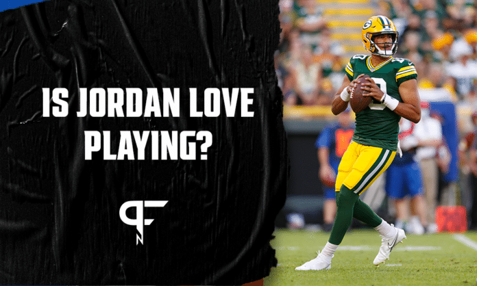 Is Jordan Love playing today vs. Bills?
