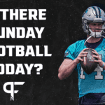 Are there Sunday football games today? NFL Preseason Week 1