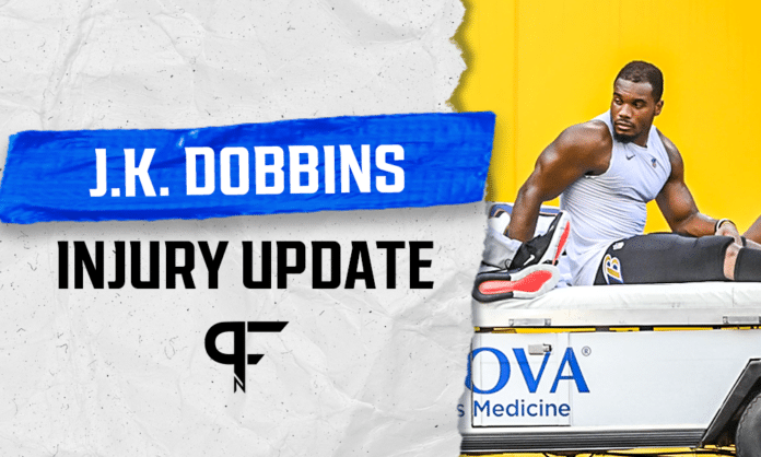 Fantasy Football Injury Report: What does a J.K. Dobbins injury mean for Gus Edwards and Justice Hill?