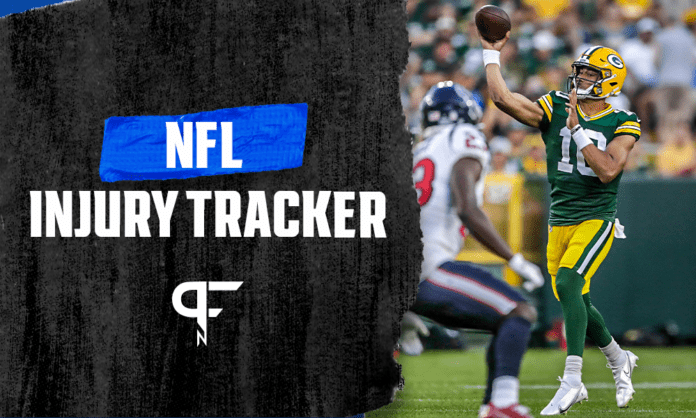 NFL Preseason Injury Update The latest on Curtis Samuel, Jordan Love, Jonathan Ward and more