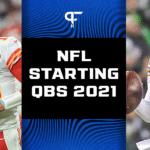 NFL starting quarterbacks for the 2021 NFL season