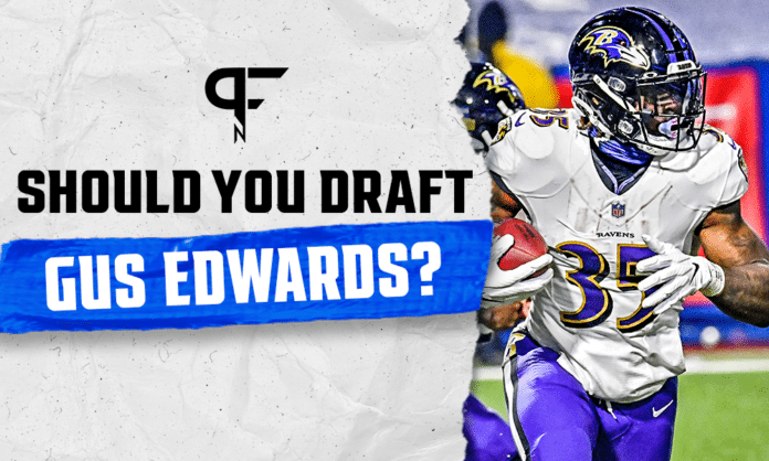 Should You Draft Gus Edwards In Fantasy Football This Year