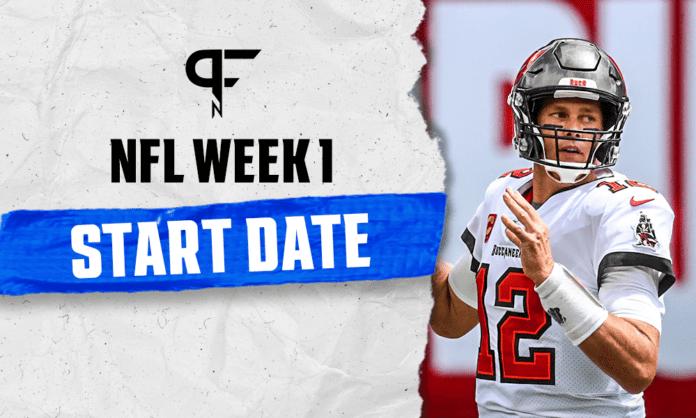 When does the NFL season start in 2021? Week 1 kicks off September 9