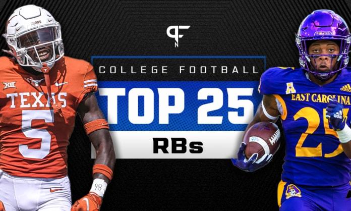 College Football Running Back Rankings 2021: Bijan Robinson leads the way