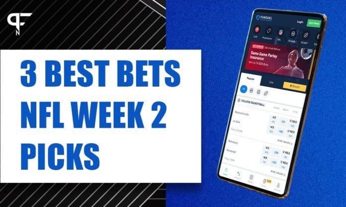 nfl week 2 picks against the spread